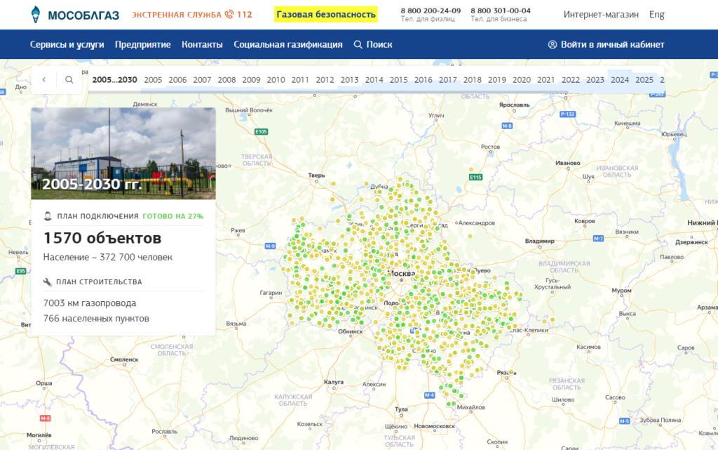 Программа газификации Московской области – возможность улучшить качество жизни