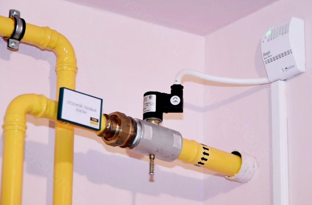 Как выбрать место установки сигнализатора загазованности?